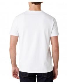 T-shirt Wrangler SS SEAS LOGO TEE W7AK White