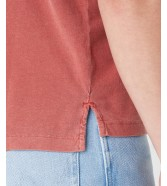 Koszulka Wrangler SS GD POLO W7AN Barn Red