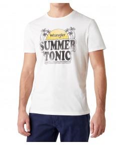 Wrangler SUMMER TEE W7AT Off White