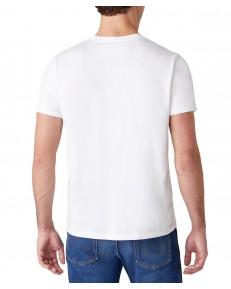 Wrangler SS 2 PACK TEE W7BAD White