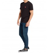 Wrangler SS SIGN OFF TEE W7C07 Black