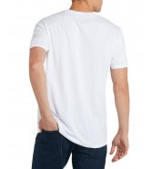 Wrangler SS SIGN OFF TEE W7C07 White