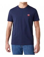 T-shirt Wrangler SS SIGN OFF TEE W7C07 Navy