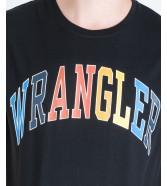 Wrangler SS RAINBOW TEE W7C7D Black