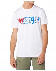 Wrangler SS TEE W7D2F White