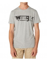 Wrangler SS TEE W7D2F Mid Grey Mel