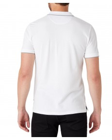 Koszulka Wrangler SS PIQUE POLO W7D5K Bright White