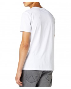 Wrangler SS ATHLETIC TEE W7D8 White