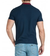 Wrangler SS COLOURBLOCK POLO W7E3 Navy