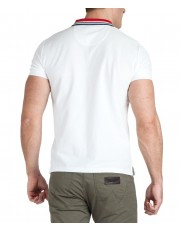 Wrangler SS COLOURBLOCK POLO W7E3 White