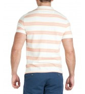 Wrangler SS STRIPE POLO W7F3 Off White
