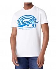 Wrangler SS AMERICANA TEE W7F6 White