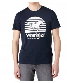 Wrangler SS HORSE TEE W7G1D Dark Navy