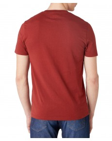 Wrangler SS MOTEL TEE W7G3D Rusty Brown