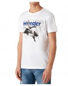 Wrangler SS PHOTO W TEE W7G7 White