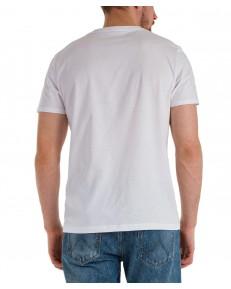 T-shirt Wrangler POSITIVE VIBE TEE W7J8D White