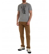 T-shirt Wrangler POSITIVE VIBE TEE W7J8D Mid Grey Mel