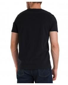 T-shirt Wrangler RAINBOW TEE W7J9D Black