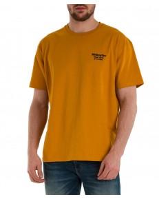 T-shirt Wrangler WWYG TEE W7K1F Inca Gold
