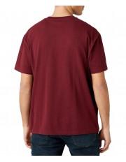 T-shirt Wrangler RIDE TEE W7K3G Tawny Port