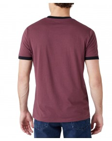 T-shirt Wrangler SS SIGN OFF TEE W7L0 Catawba Grape