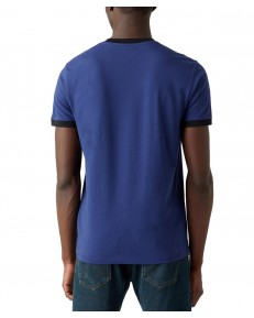 T-shirt Wrangler SS SIGN OFF TEE W7L0 Medieval Blue
