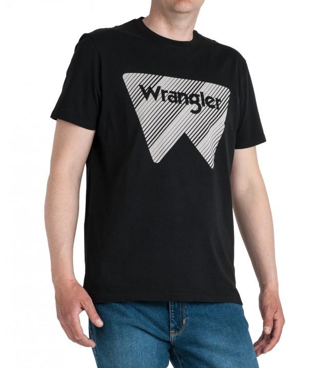 Wrangler SS W TEE W7MAD Black