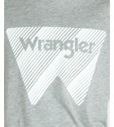 Wrangler SS W TEE W7MAD Mid Grey Mele