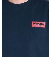 Wrangler SS BLOCK TEE W7MB Navy