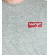 Wrangler SS BLOCK TEE W7MB Mid Grey Mele