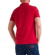 Koszulka Wrangler SS POLO W7MJK Red