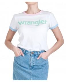 Wrangler RINGER TEE W7N0E Real White