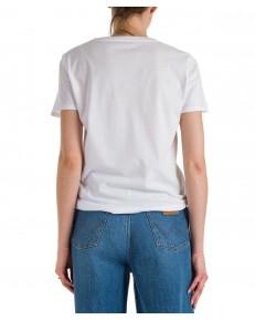 T-shirt Wrangler REGULAR TEE W7N4 White