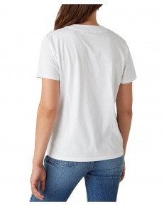 Wrangler HIGH RIB REGULAR TEE W7N9F White