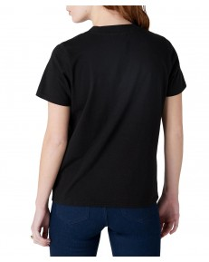 Wrangler HIGH RIB REGULAR TEE W7N9G Black