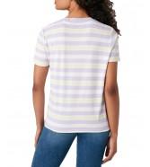 T-shirt Wrangler HIGH RIB REGULAR TEE W7N9G Pastel Violet