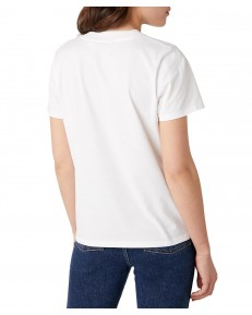 Wrangler HIGH RIB REGULAR TEE W7N9G Off White