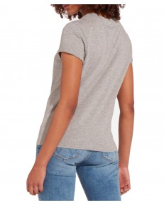 T-shirt Wrangler GEO TEE W7N9E Mid Grey Mel