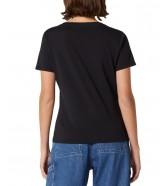 Wrangler SIGN OFF TEE W7Q0E Black