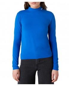 Golf Wrangler HIGH NECK BABY TEE W7R1D Wrangler Blue