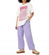 T-shirt Wrangler OVERSIZE TEE W7R3D Wornwhite
