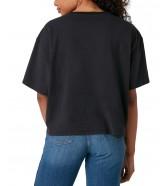 T-shirt Wrangler BOXY TEE W7S2 Faded Black