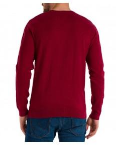 Sweter Wrangler CREWNECK KNIT W8A02 Biking Red