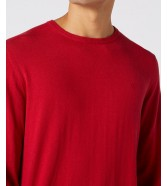 Wrangler CREW KNIT W8A0P Red