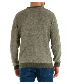 Sweter Wrangler WOODLAND MARL W8C4 Ivy Green