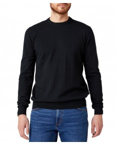 Sweter Wrangler CREW KNIT W8M0 Black