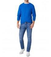 Sweter Wrangler CREW KNIT W8P2 Wrangler Blue