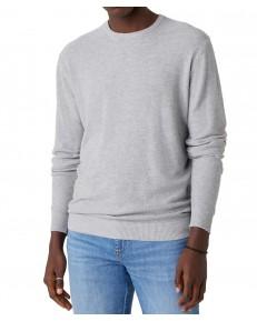 Sweter Wrangler CREW KNIT W8P2 Grey Mele