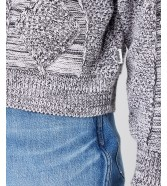 Sweter Wrangler CORRUPTED KNIT W8P4Q Orchid Petal