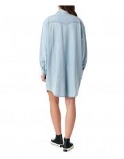 Sukienka Wrangler DENIM WESTERN DRESS W9P6 Light Indigo